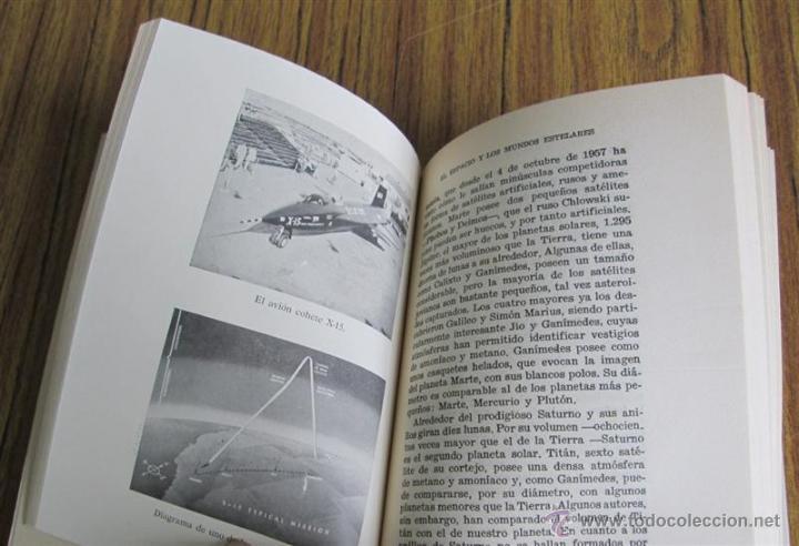 Libros de segunda mano: EL ESPACIO Y LOS MUNDOS ESTELARES - Por Mario Lleget – A. J. Branston - 1ª edición 1962 - Foto 9 - 52697883