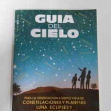 Libros de segunda mano: GUIA DEL CIELO 2001. PARA LA OBSERVACION DE CONTELACIONES Y PLANETAS. TDK189. Lote 52984237
