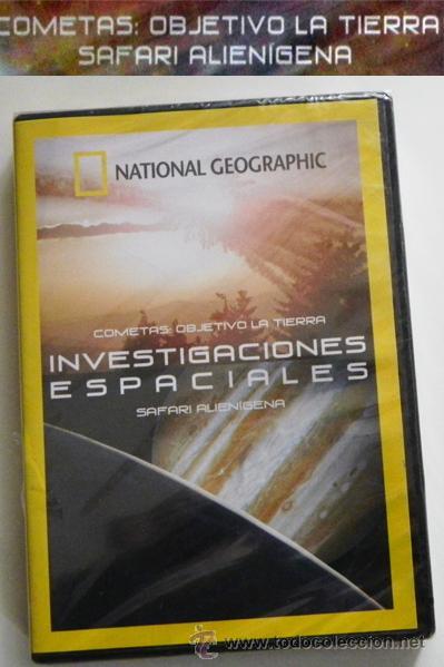 DVD INVESTIGACIONES ESPACIALES DOCUMENTAL PRECINTADO - SAFARI ALIENÍGENA - COMETAS - SETI - NO LIBRO (Libros de Segunda Mano - Ciencias, Manuales y Oficios - Astronomía)