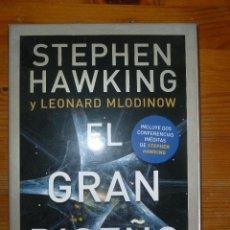 Libros de segunda mano: EL GRAN DISEÑO. STEPHEN HAWKING Y L. MLODINOW. ED. CRITICA CAJA Y CONFERENCIAS.. Lote 54807568