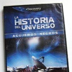 Libros de segunda mano: DVD AGUJEROS NEGROS - PRECINTADO - DOCUMENTAL ASTRONOMÍA HISTORIA DEL UNIVERSO CIENCIAS -NO ES LIBRO. Lote 55184092
