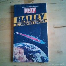 Libros de segunda mano: EL LIBRO DEL COMETA HALLEY - MUY INTERESANTE 1985. Lote 56526328