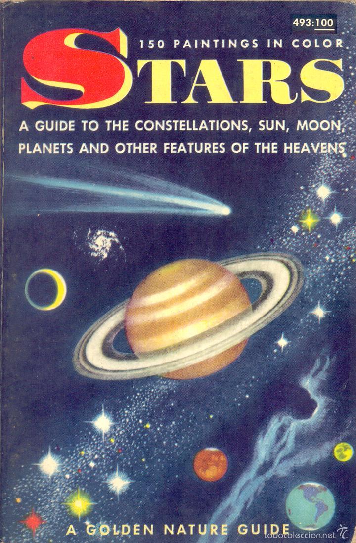HERBERT S. ZIM, ROBERT S. BAKER : STARS, A GUIDE TO THE CONSTELLATIONS. VOLUMEN EN INGLÉS. (Libros de Segunda Mano - Ciencias, Manuales y Oficios - Astronomía)