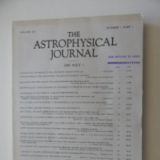 Libros de segunda mano: THE ASTROPHYSICAL JOURNAL. VOL. 294 NUMBER 1 PART 1 01/07/1985. Lote 57585979