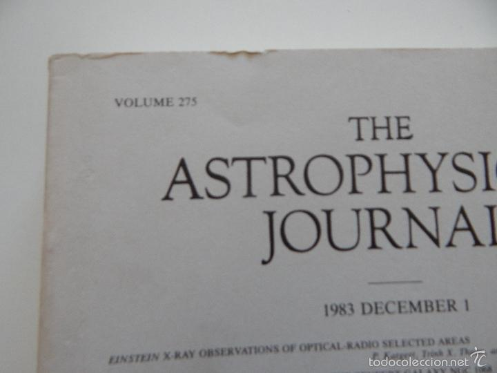 Libros de segunda mano: The Astrophysical Journal. Volume 275 Number 1 Part 1 1/12/1983 - Foto 3 - 57641270