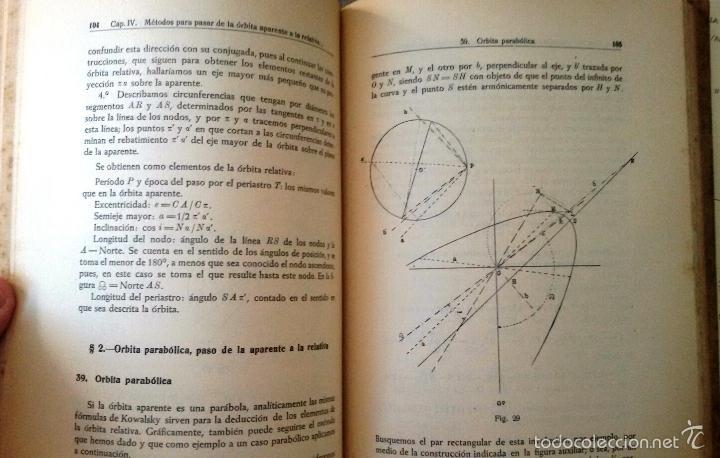 Libros de segunda mano: CÁLCULO DE ÓRBITAS DE ESTRELLAS DOBLES VISUALES (VIDAL ABASCAL, 1953) SIN USAR. - Foto 8 - 175961344