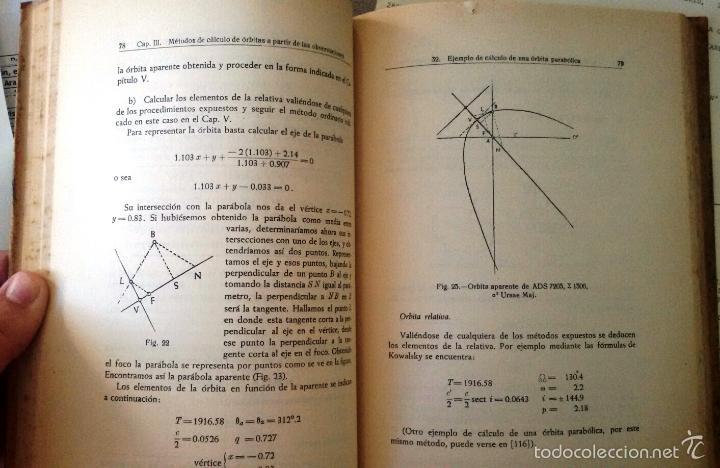 Libros de segunda mano: CÁLCULO DE ÓRBITAS DE ESTRELLAS DOBLES VISUALES (VIDAL ABASCAL, 1953) SIN USAR. - Foto 9 - 175961344