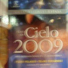 Libros de segunda mano: GUÍA DEL CIELO 2009, ED. ESPASA. Lote 58125216
