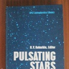 Libros de segunda mano: PULSATING STARS --- B. V. KUKARKIN, EDITOR. Lote 58232944