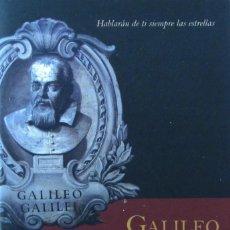 Libros de segunda mano: GALILEO Y LA ASTRONOMÍA. EXPOSICIÓN. Lote 58584697
