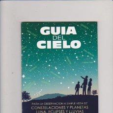 Livres d'occasion: GUIA DEL CIELO - 2011 - ECLIPSES, LLUVIAS DE METEOROS....PROCIVEL EDITORIAL. Lote 58592788