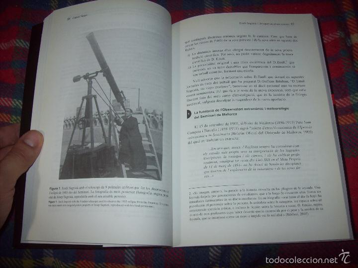 CONFERÈNCIES DE LES JORNADES DE COMMEMORACIÓ DE L'ECLIPSI TOTAL DE SOL A LA MALLORCA DE 1905. FOTOS (Libros de Segunda Mano - Ciencias, Manuales y Oficios - Astronomía)