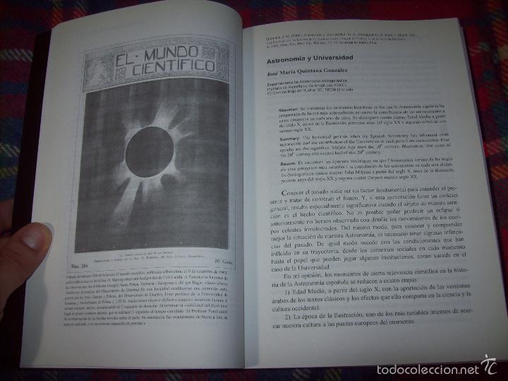 Libros de segunda mano: CONFERÈNCIES DE LES JORNADES DE COMMEMORACIÓ DE LECLIPSI TOTAL DE SOL A LA MALLORCA DE 1905. FOTOS - Foto 9 - 58717484