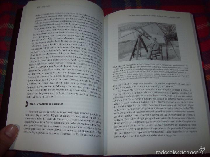 Libros de segunda mano: CONFERÈNCIES DE LES JORNADES DE COMMEMORACIÓ DE LECLIPSI TOTAL DE SOL A LA MALLORCA DE 1905. FOTOS - Foto 15 - 58717484