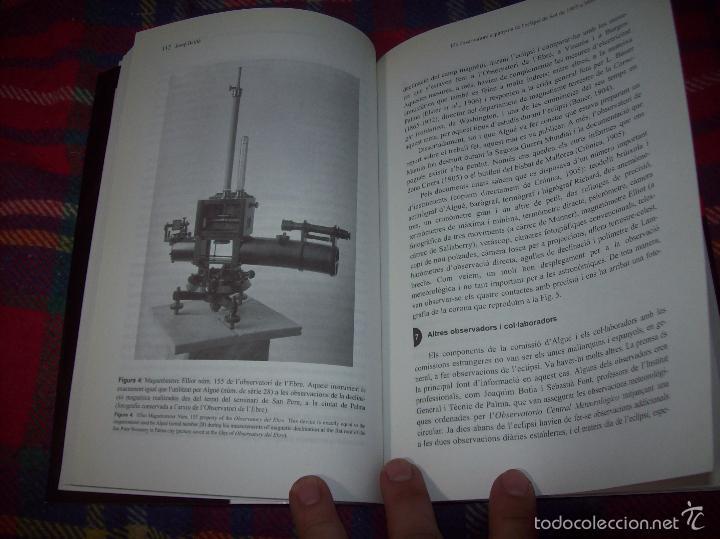 Libros de segunda mano: CONFERÈNCIES DE LES JORNADES DE COMMEMORACIÓ DE LECLIPSI TOTAL DE SOL A LA MALLORCA DE 1905. FOTOS - Foto 16 - 58717484