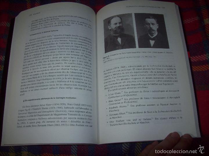 Libros de segunda mano: CONFERÈNCIES DE LES JORNADES DE COMMEMORACIÓ DE LECLIPSI TOTAL DE SOL A LA MALLORCA DE 1905. FOTOS - Foto 19 - 58717484