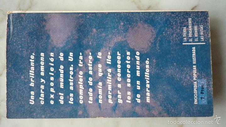 Libros de segunda mano: 1962 ENCICLOPEDIA POPULAR ILUSTRADA P nº 2 ASTRONOMÍA. Mario LLEGET. Plaza & Janes / Astros - Foto 5 - 60824851