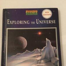 Libros de segunda mano: LIBRO. EXPLORING THE UNIVERSE. TAPAS DURAS. PRENTICE HALL SCIENCE. LIBRO DEL UNIVERSO EN INGLES. Lote 71257751