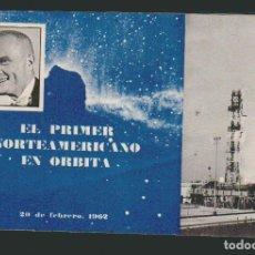 Libros de segunda mano: EL PRIMER NORTEAMERICANO EN ÓRBITA. CASA AMERICANA DE LA EMBAJADA DE ESTADOS UNIDOS, 1962. Lote 71784471