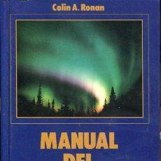 Libros de segunda mano: MANUAL DEL ASTRÓNOMO AFICIONADO. Lote 76037747