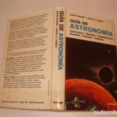 Libros de segunda mano: DAVID BAKER, DAVID A. HARDY. GUÍA DE ASTRONOMÍA. RMT80329. . Lote 85704620