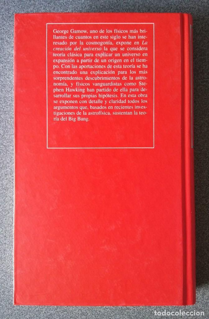 Libros de segunda mano: La Creación del Universo George Gamow - Foto 2 - 92002390
