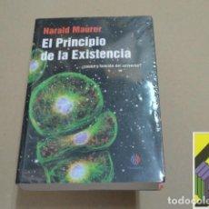 Libros de segunda mano: MAURER, HARALD: EL PRINCIPIO DE LA EXISTENCIA. CAUSA Y FUNCIÓN DEL UNIVERSO?. Lote 94123205