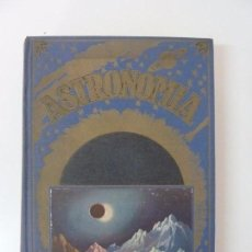 Libros de segunda mano: ASTRONOMÍA. COMAS SOLÁ. SOPENA. AÑO 1954. Lote 95801783