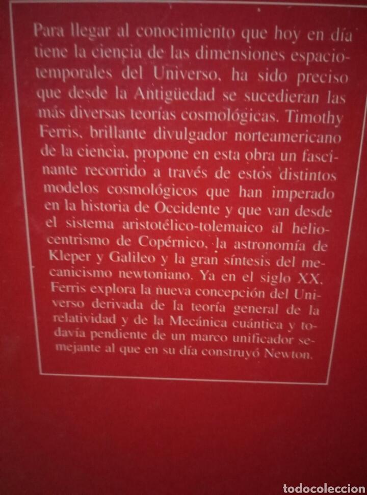 Libros de segunda mano: La aventura del universo I y II. Timothy Ferris. - Foto 2 - 96464714