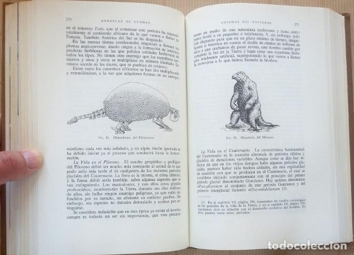 Libros de segunda mano: Los Enigmas del universo – Antonio González de Guzmán - Foto 4 - 98139635
