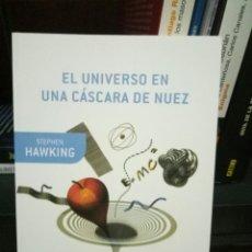 Libros de segunda mano: EL UNIVERSO EN UNA CASCARA DE NUEZ - STEPHEN HAWKING . Lote 99187815