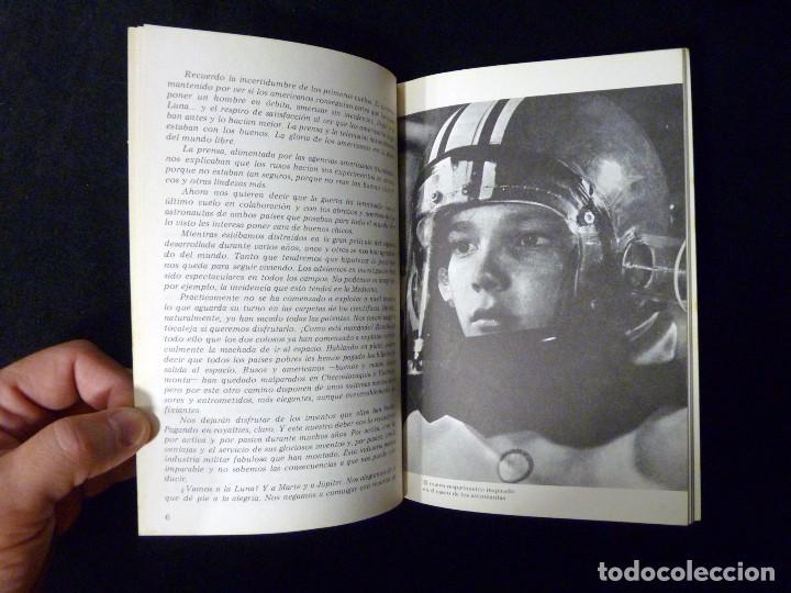 Libros de segunda mano: FELIX LLAUGÉ. ASTRONÁUTICA. LAS DOS CARAS DE LA LUNA. CUADERNOS EDEBÉ Nº 22, 1976 - Foto 3 - 100349399