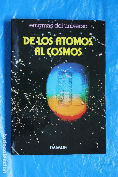 DE LOS ATOMOS AL COSMOS, ENIGMAS DEL UNIVERSO POR PIERO BIANUCCI, DAIMON 1979 (Libros de Segunda Mano - Ciencias, Manuales y Oficios - Astronomía)