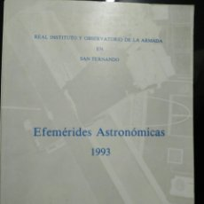 Libros de segunda mano: EFEMÉRIDES ASTRONÓMICAS 1995. Lote 102519435