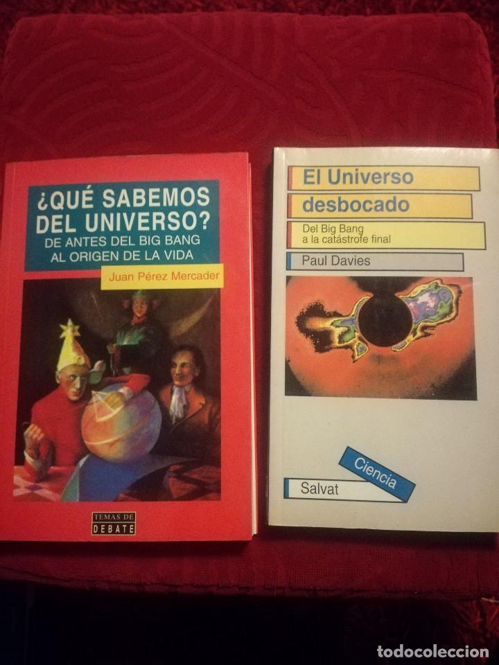 ¿QUÉ SABEMOS DEL UNIVERSO? +EL UNIVERSO DESBOCADO (Libros de Segunda Mano - Ciencias, Manuales y Oficios - Astronomía)