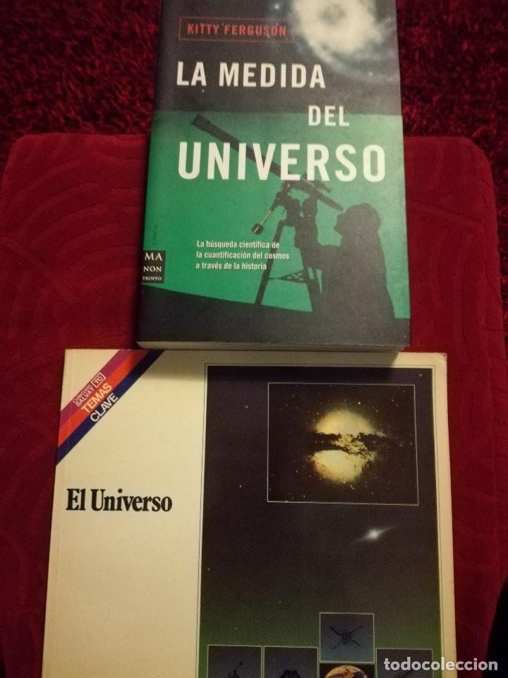 LA MEDIDA DEL UNIVERSO + EL UNIVERSO (Libros de Segunda Mano - Ciencias, Manuales y Oficios - Astronomía)