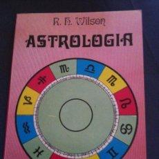 Libros de segunda mano: ASTROLOGIA-R,H,WILSON-COLECCION MANCIAS-EDICIONES DOBLES. Lote 109563315