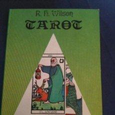 Libros de segunda mano: TAROT-R,H,WILSON-COLECCION MANCIAS-EDICIONES DOBLES. Lote 109563415