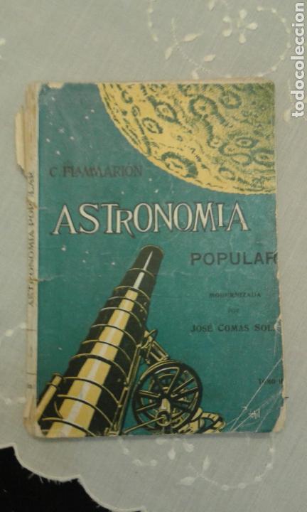 ASTRONOMÍA POPULAR. C. FLAMMARIÓN. TOMO II. CON 109 GRABADOS. (Libros de Segunda Mano - Ciencias, Manuales y Oficios - Astronomía)