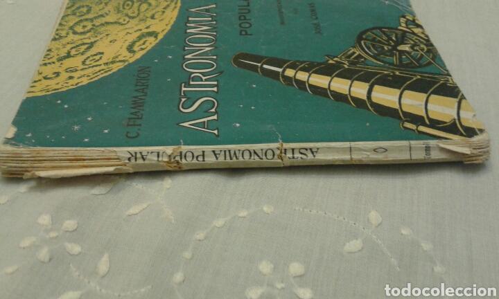 Libros de segunda mano: Astronomía popular. C. Flammarión. Tomo II. Con 109 grabados. - Foto 3 - 111636556