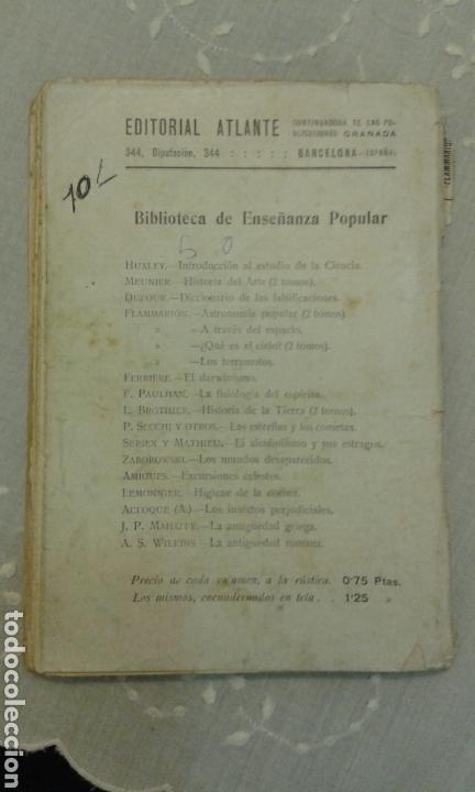Libros de segunda mano: Astronomía popular. C. Flammarión. Tomo II. Con 109 grabados. - Foto 4 - 111636556