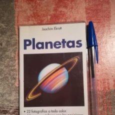 Libros de segunda mano: PLANETAS - JOACHIM EKRUTT - GUÍAS DE LA NATURALEZA - EVEREST. Lote 115641607