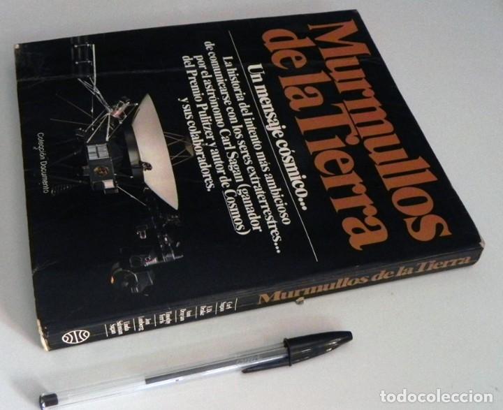 Libros de segunda mano: MURMULLOS DE LA TIERRA LIBRO CARL SAGAN - MENSAJE VOYAGER ESPACIO VIDA EXTRATERRESTRE CIENCIAS NAVES - Foto 13 - 115917135