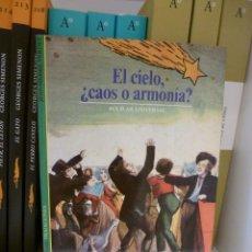 Libros de segunda mano: EL CIELO, ¿CAOS O ARMONÍA? JEAN-PIERRE VERDET. AGUILAR UNIVERSAL/TRADICIONES. Lote 118047399