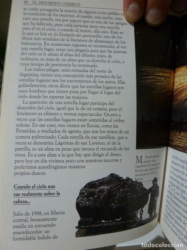Libros de segunda mano: EL CIELO, ¿CAOS O ARMONÍA? JEAN-PIERRE VERDET. AGUILAR UNIVERSAL/TRADICIONES - Foto 6 - 118047399