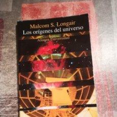 Libros de segunda mano: LOS ORÍGENES DEL UNIVERSO - MALCOM S. LONGAIR. Lote 118178711