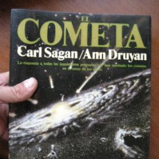 Libros de segunda mano: EL COMETA CARL SAGAN ANN DRUYAN. Lote 118064276