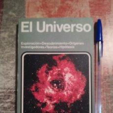 Libros de segunda mano: EL UNIVERSO. EXPLORACIÓN/DESCUBRIMIENTO/ORÍGENES INVESTIGADORES/TEORÍAS/HIPÓTESIS - ENC MUNDO ACTUAL. Lote 118537087