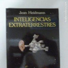 Libros de segunda mano: INTELIGENCIAS EXTRATERRESTRES JEAN HEIDMANN ARIEL (1993) 221PP. Lote 118568715