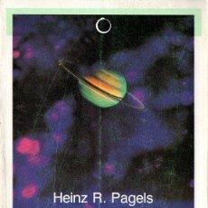 Libros de segunda mano: PAGELS : LA BÚSQUEDA DEL PRINCIPIO DEL TIEMPO (BOSCH, 1988). Lote 118682883